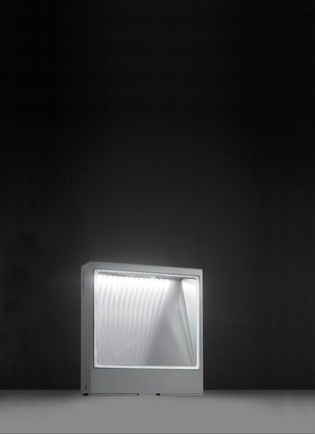 LED extruded aluminium bollard light PIN F.8210 by Francesconi & C.