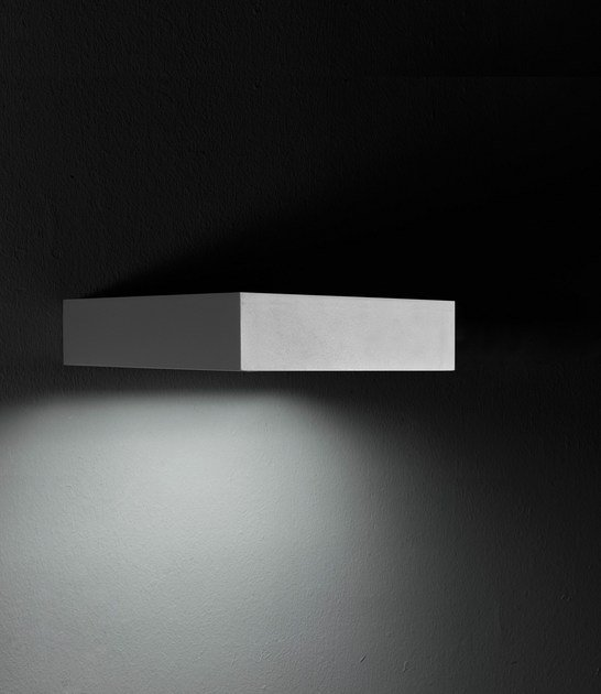 LED extruded aluminium wall lamp PIN F.8215 by Francesconi & C.