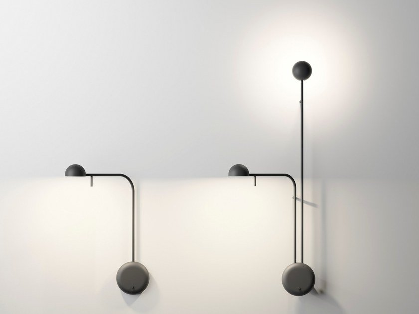 LED adjustable wall lamp PIN | Wall lamp by Vibia