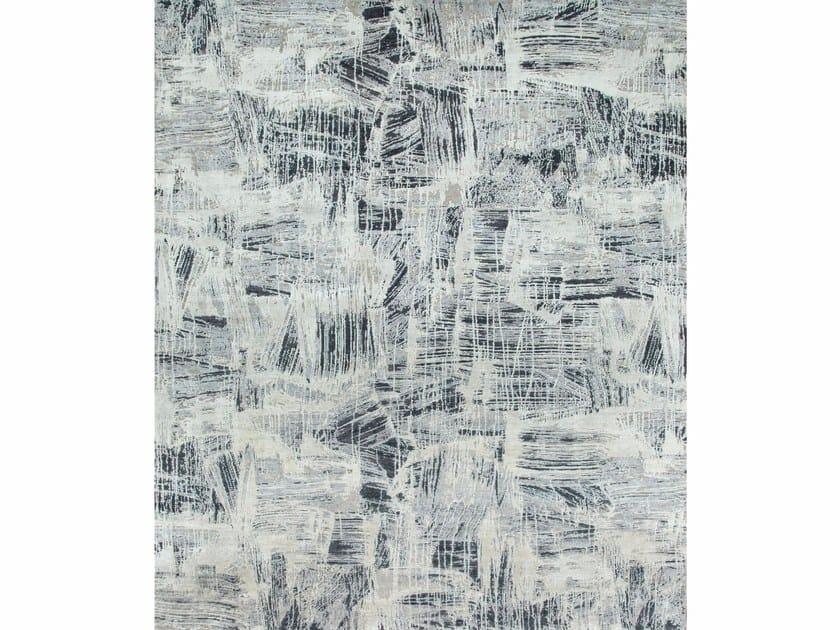Patterned rug PINCELADA CX-2461 Platinum/Ashwood by Jaipur Rugs
