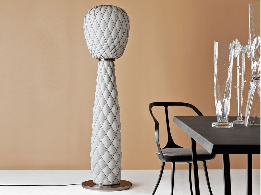 Blown glass floor lamp PINECONE | Floor lamp by FontanaArte
