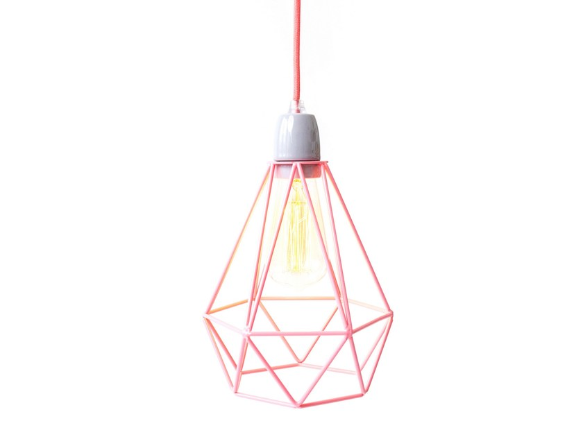 cable pendant lighting. simple cable metal pendant lamp pink cage cable by filamentstyle with cable pendant lighting r