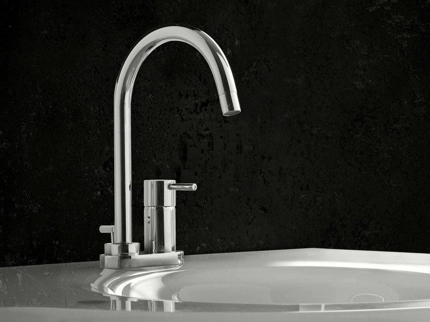 Washbasin mixer with automatic pop-up waste PINO' | Washbasin mixer by Signorini