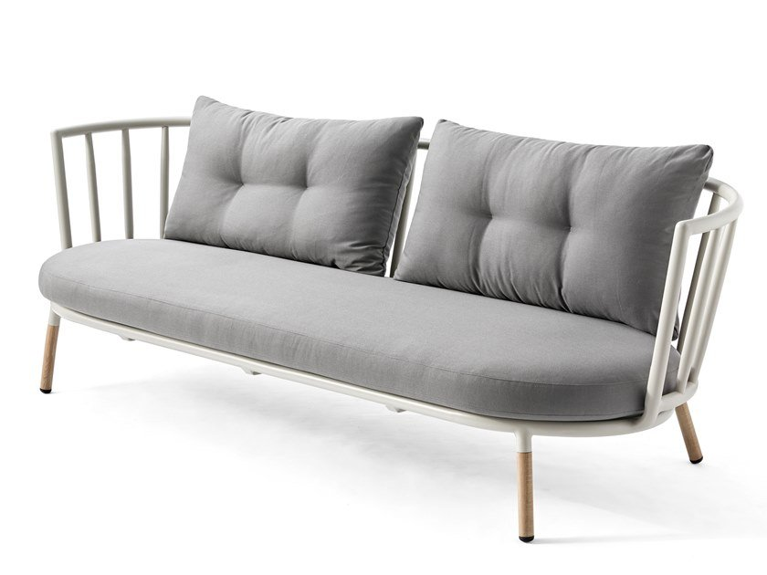 Captivating 3 Seater Garden Sofa PIPE | 3 Seater Garden Sofa By Kun Design