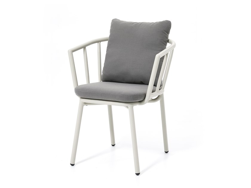 Garden chair with armrests PIPE | Chair by Kun Design