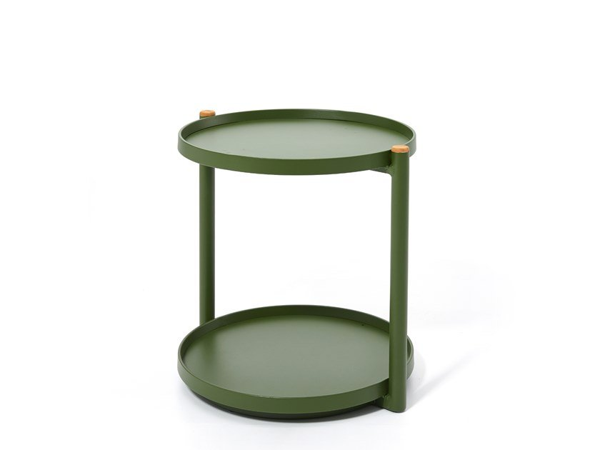 Round garden side table PIPE | Side table by Kun Design