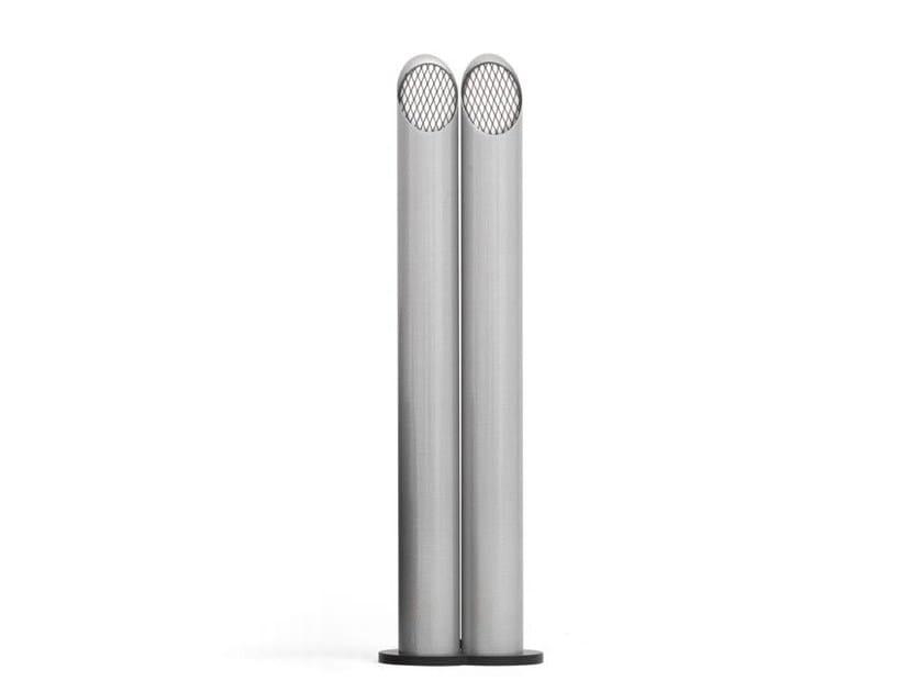Indirect light Alutex floor lamp PIPE TECH | Floor lamp by Tonino Lamborghini Casa