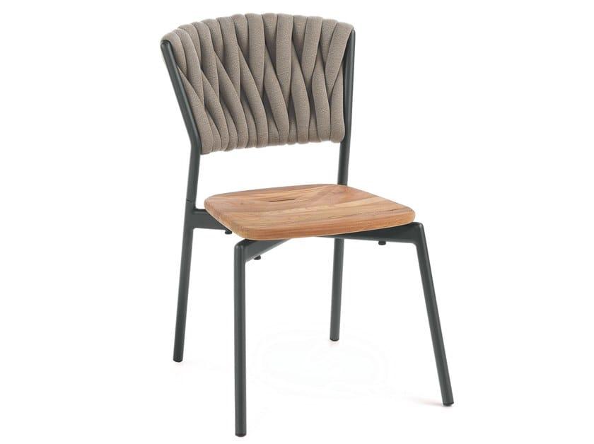 Polyester garden chair PIPER 220 by RODA