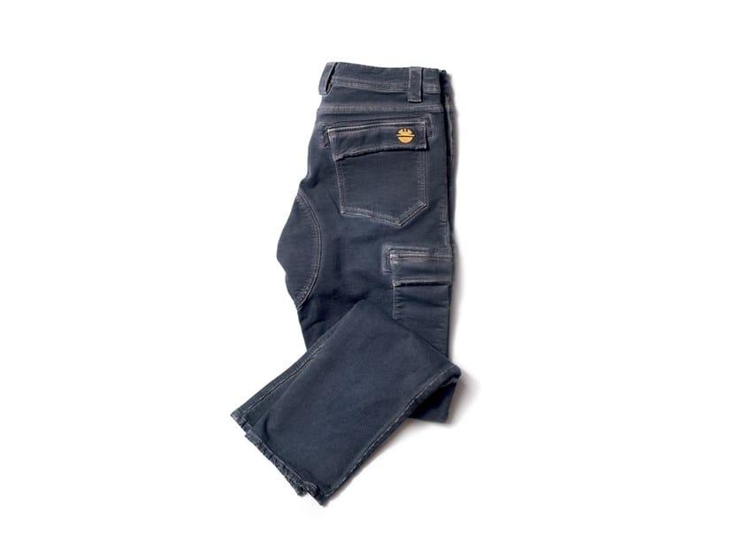 Pantalone in Knit PIPER FUMO DI LONDRA by DIKE