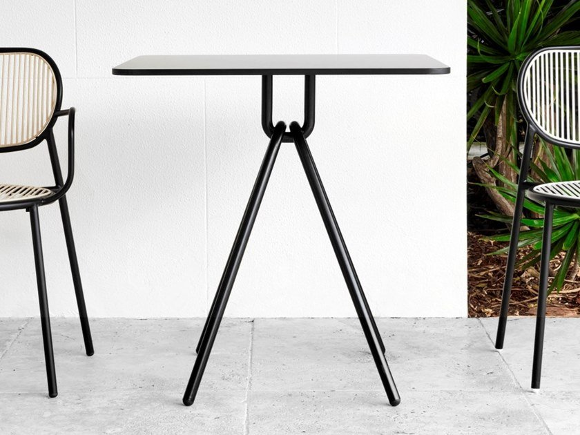 Square table PIPER | Square table by DesignByThem