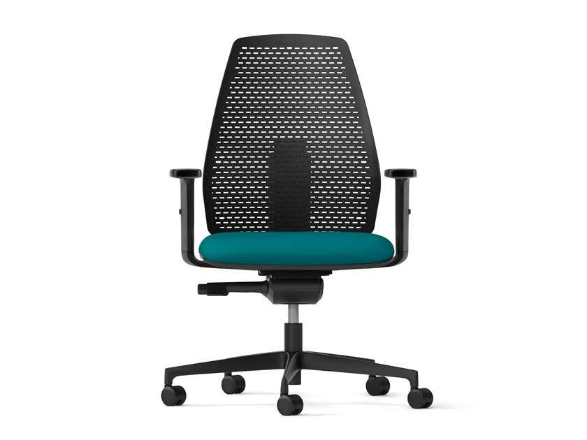 Task chair with 5-Spoke base PIPER | Task chair by Arte & D