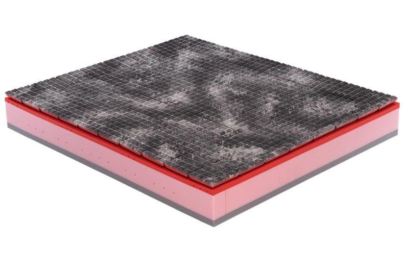 Anti-allergy anti-mite anti-bacterial mattress PIRAMID AIR 3200 by Lamantin