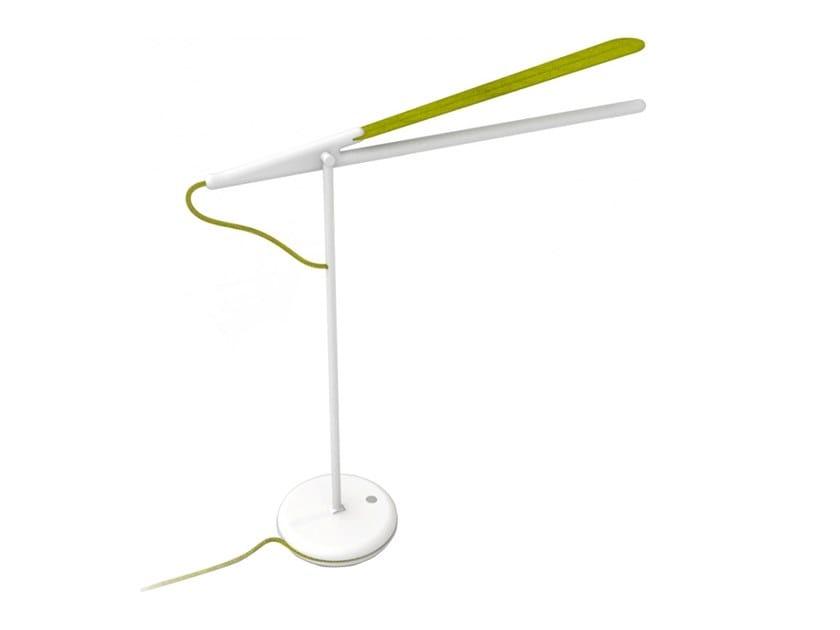 Lampada da scrivania a led in alluminio pistyle lampada da