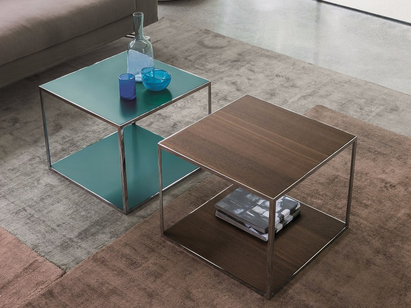 Square coffee table PITAGORA by Dall'Agnese
