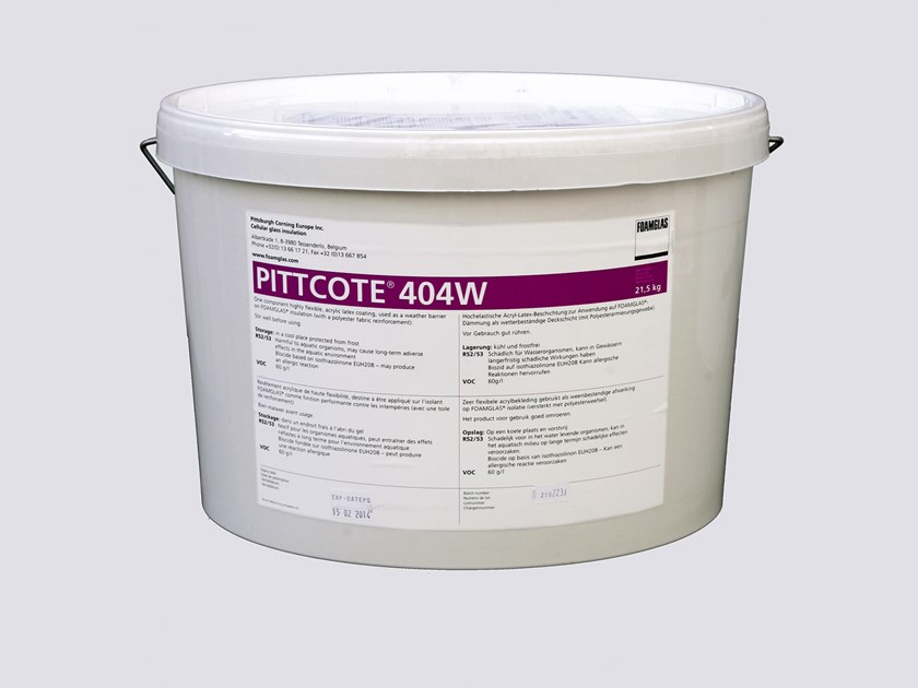 Fibre-reinforced and special plaster PITTCOTE® 404W by FOAMGLAS