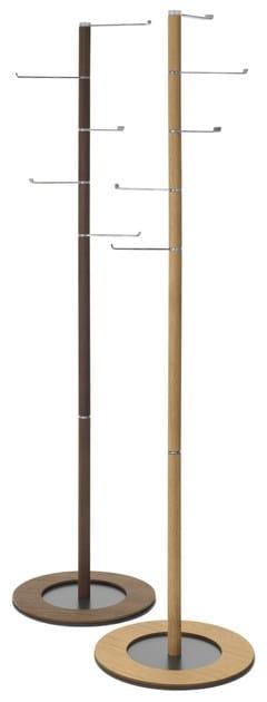 PIVOT | Appendiabiti in acciaio e legno