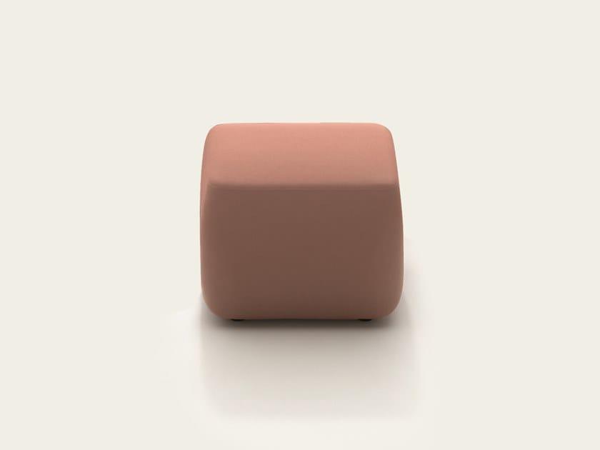 Arper Quadrato Tessuto Pix CuboPouf In 5ALS3Rj4qc