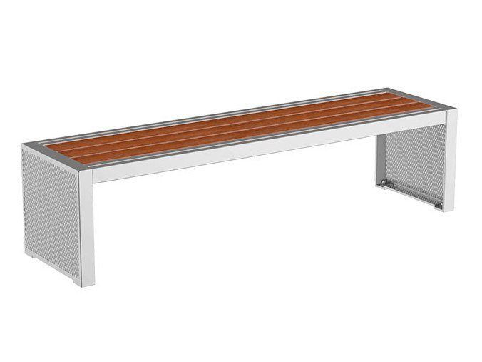Modular backless Bench PIXEL | Bench by GHM-ECLATEC