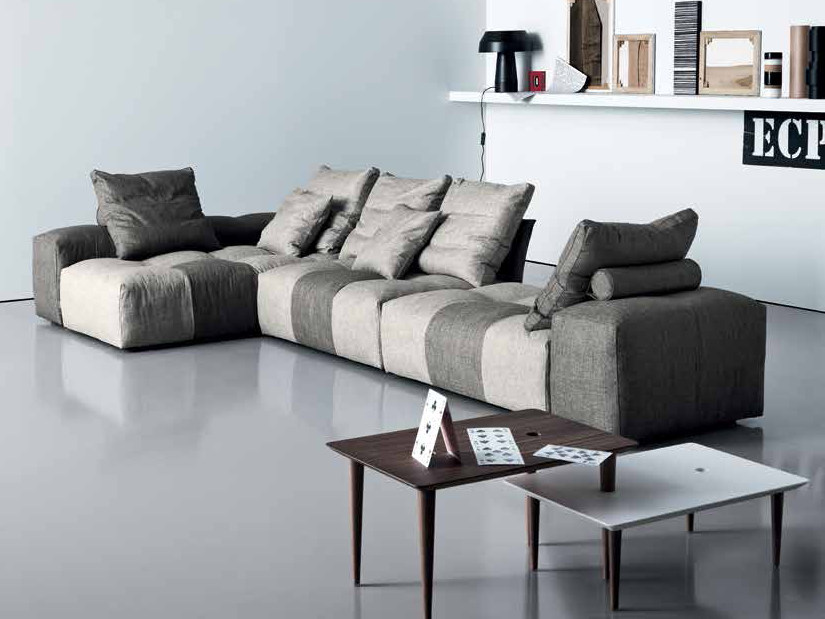 Corner sofa PIXEL   Corner sofa by Saba Italia