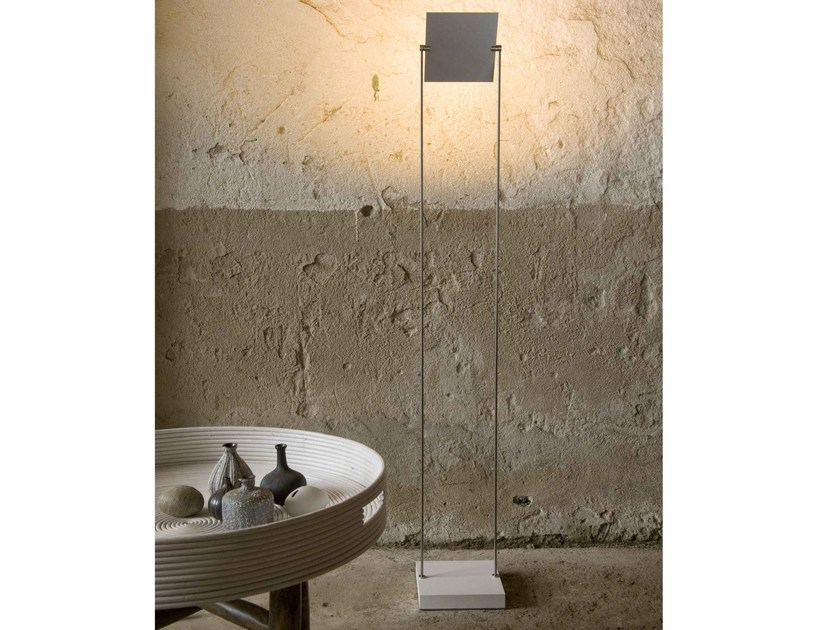 LED adjustable aluminium floor lamp with dimmer PIXEL | Floor lamp by FERROLIGHT DESIGN
