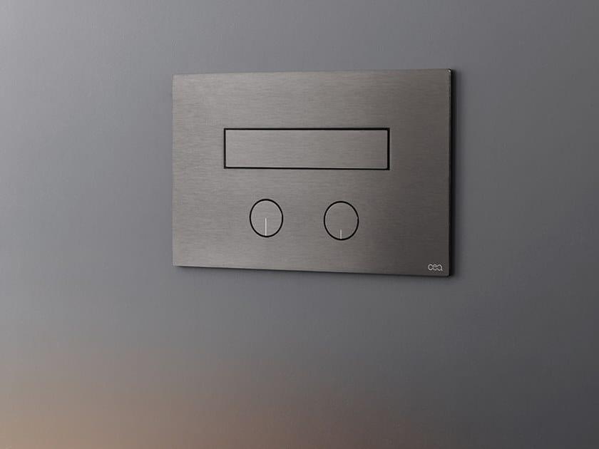 Flush plate / toilet-jet handspray PLA 05 by Ceadesign
