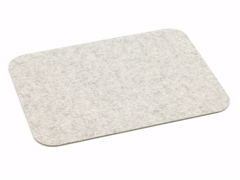 Mantel individual de fieltro PLACEMAT WITH ROUNDED CORNERS by HEY-SIGN