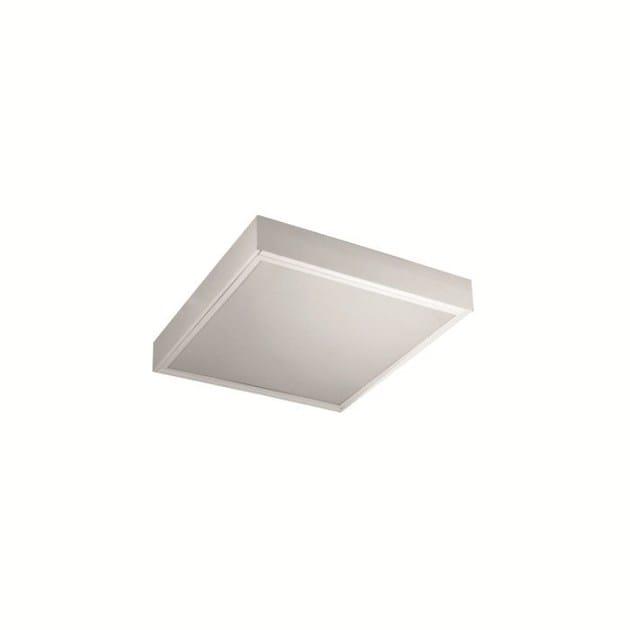 LED ceiling light INLUX ITALIA - PLAFONE 4X10 LED IP40 by NEXO LUCE