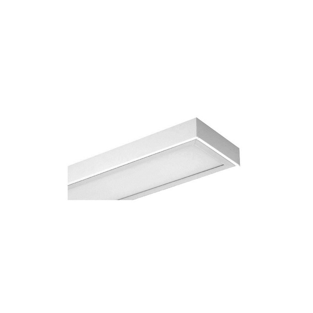 Fluorescent outdoor ceiling light INLUX ITALIA - PLAFONE R 2X80 IP65 by NEXO LUCE