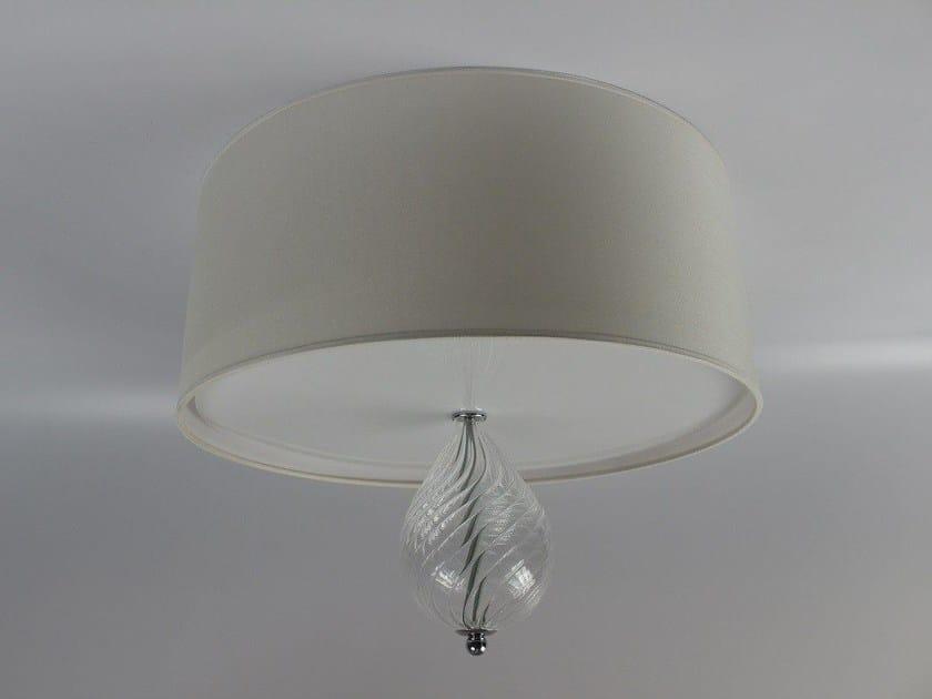 Handmade blown glass ceiling light 3002 | Blown glass ceiling light by Ipsilon PARALUMI