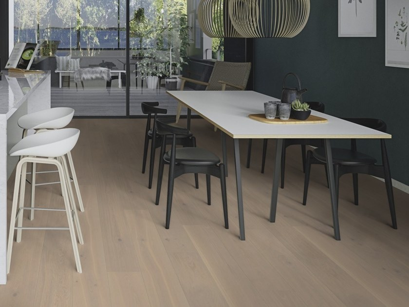 Parquet 3 strati in rovere PLANCIA ROVERE WARM COTTON by BOEN