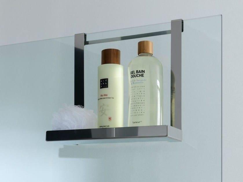Metal bathroom wall shelf PLANE   Bathroom wall shelf by Systempool