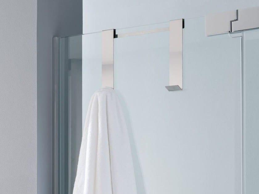 Porta asciugamani a gancio in metallo PLANE | Porta asciugamani by Systempool