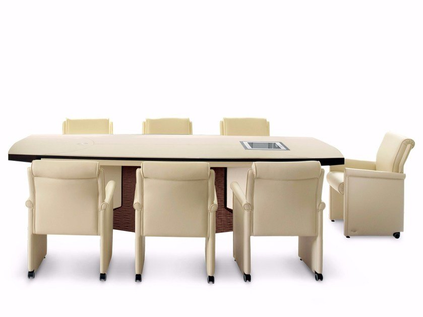PLANET Meeting Table Planet Collection By Mascheroni - Conference room table cable management