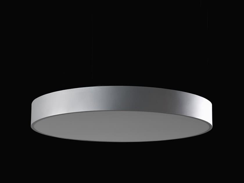 Plafoniera a LED in alluminio verniciato a polvere PLANET UP by LUNOO