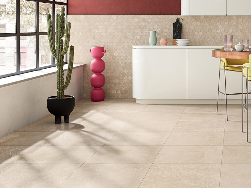 Porcelain stoneware wall/floor tiles with stone effect PLANETO VENUS by CERAMICA FONDOVALLE