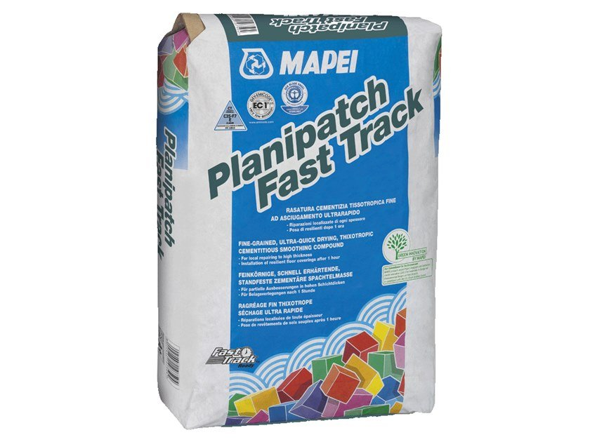 Self-levelling screed PLANIPATCH FAST TRACK by MAPEI