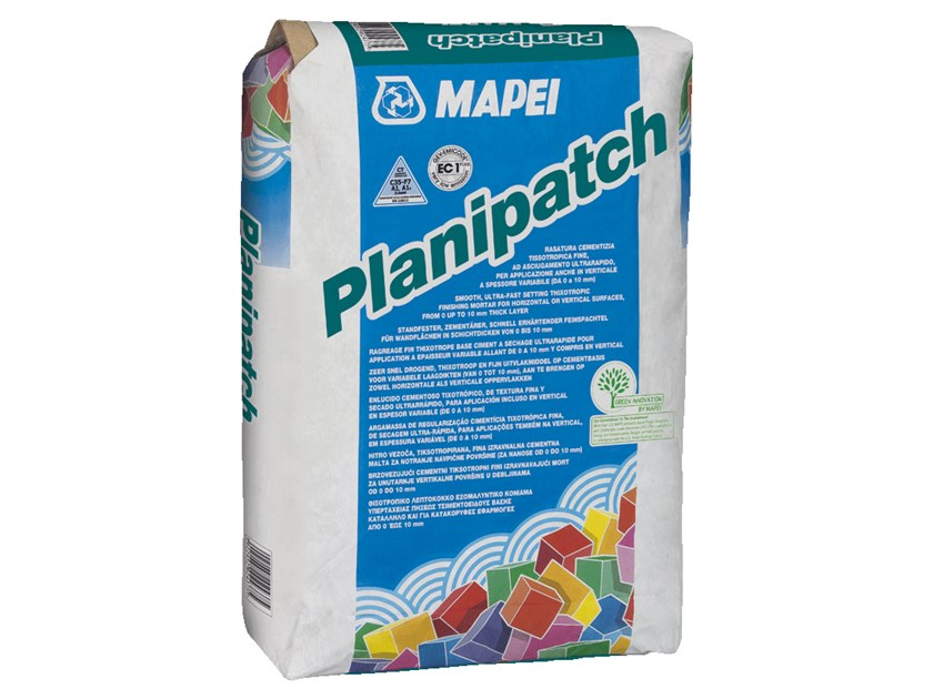 Self-levelling screed PLANIPATCH by MAPEI