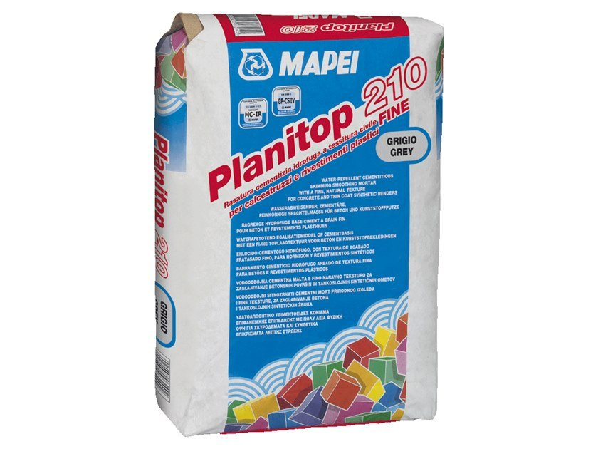 Smoothing compound PLANITOP 210 by MAPEI