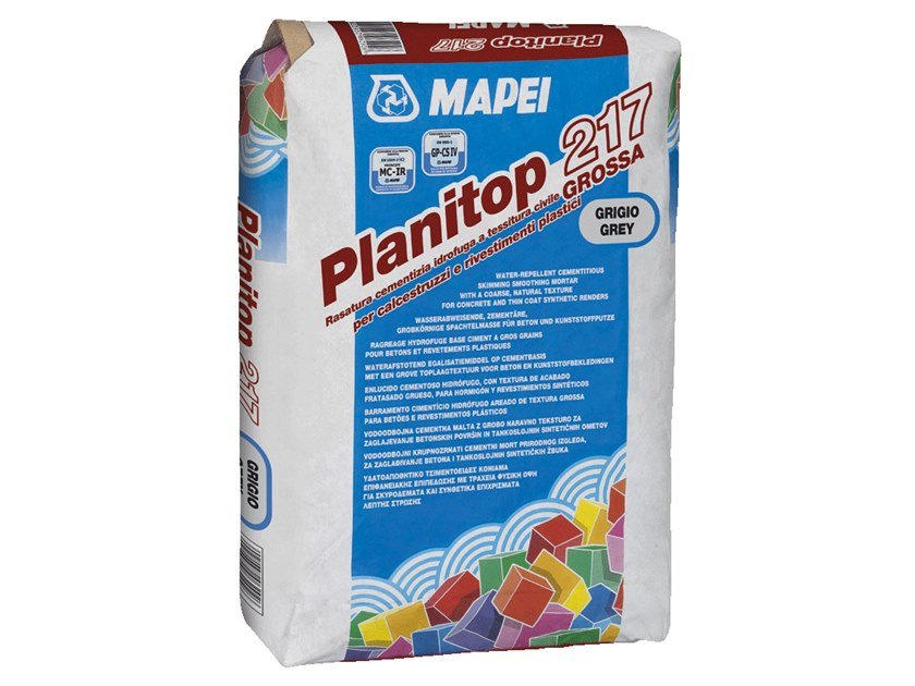 Smoothing compound PLANITOP 217 by MAPEI
