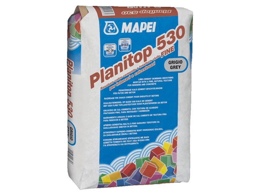 Smoothing compound PLANITOP 530 by MAPEI
