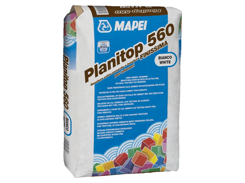 Smoothing compound PLANITOP 560 by MAPEI