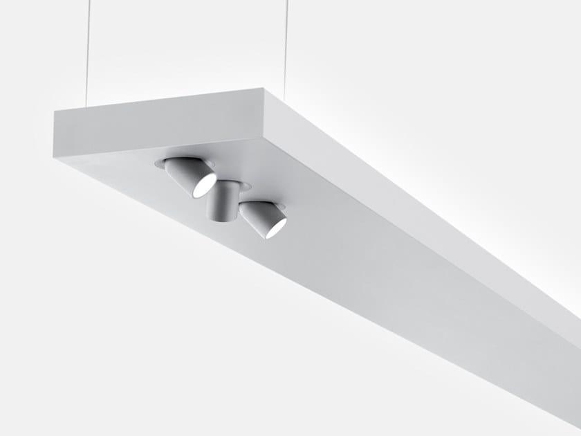LED pendant lamp PLANK SUSPENDED P1/U1 by Lightnet