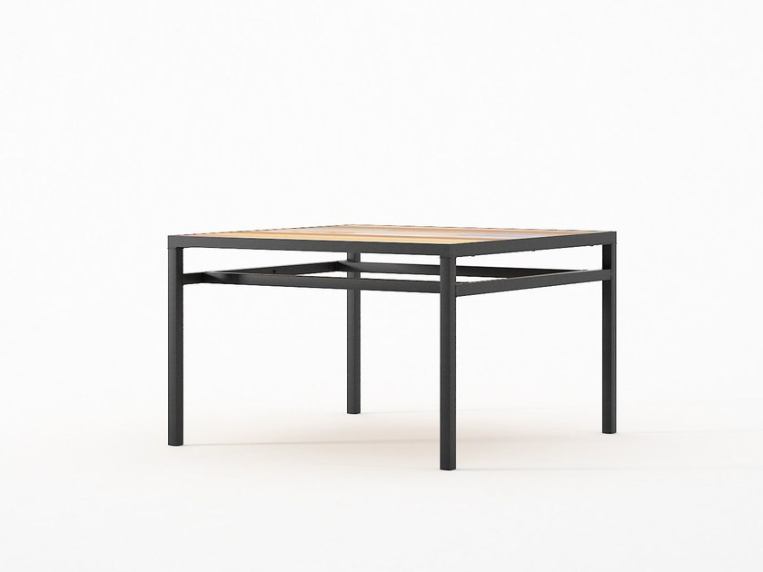 Low Square Coffee Table Planke 60 By Karpenter