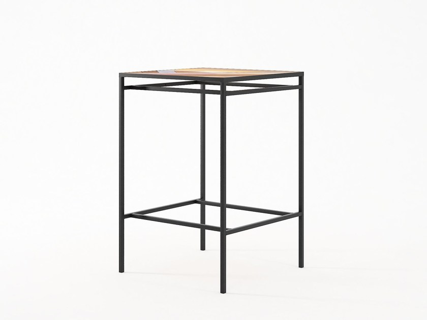 Square contract table PLANKE | Contract table by KARPENTER