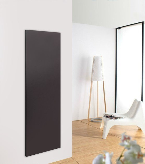 Wall-mounted stainless steel panel radiator PLANO MOVE by FOURSTEEL