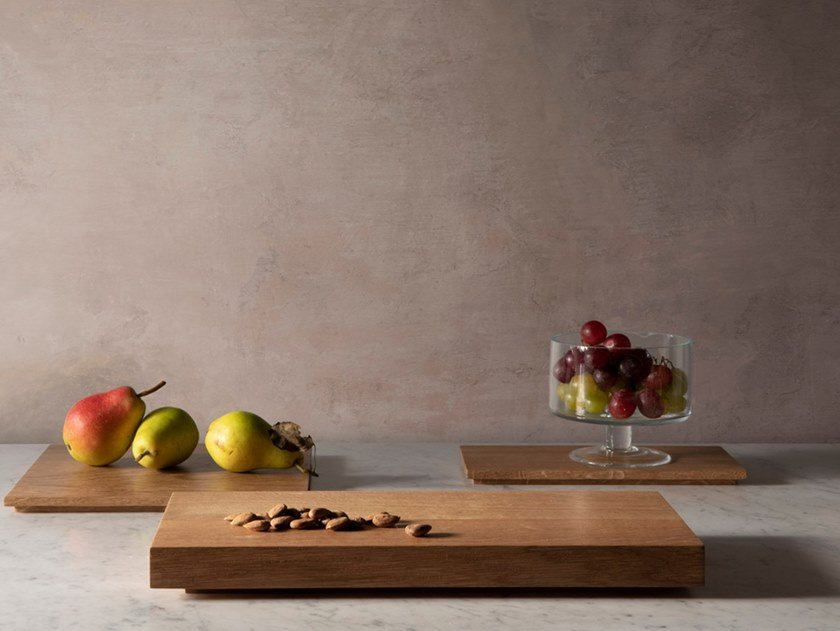 Rectangular wooden chopping board CHÊNE | Rectangular chopping board by Objets Architecturaux