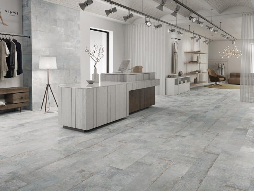 Indoor/outdoor porcelain stoneware wall/floor tiles PLATE by PERONDA