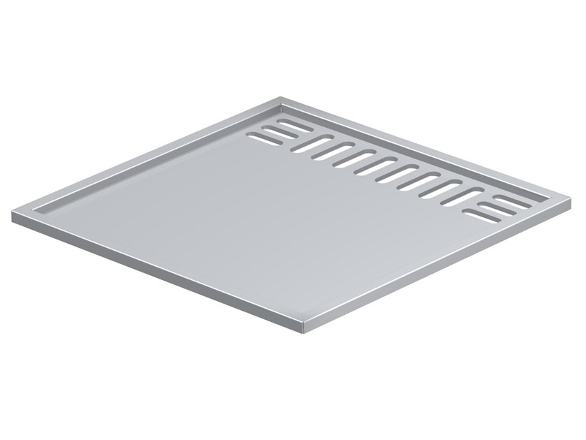 Stainless steel barbecue hob PLATE by oneQ