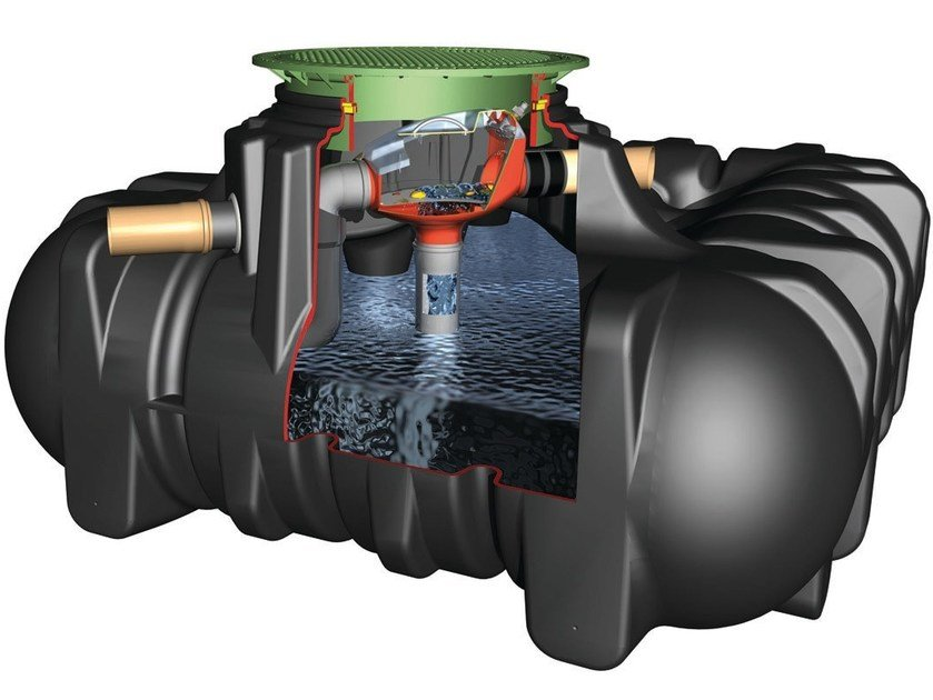 Rainwater recovery system PLATIN 3 by Otto Graf