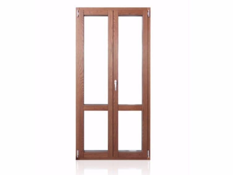 Wood and aluminium  patio door PLATINUM 900 QUADRA 90° | Patio door by Cos.Met.